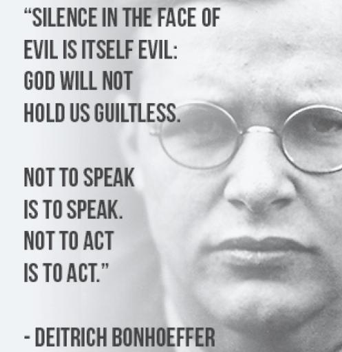 Photo ......Dietrich Bonhoeffer