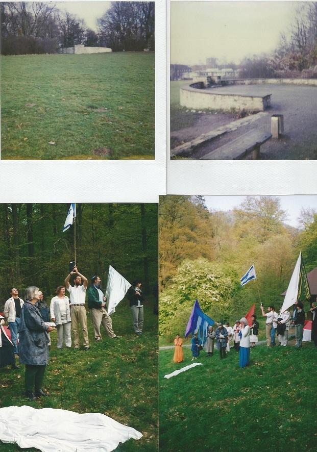 ©Neveragainhanna Die oberen Bilder sind Braunschweig und die Tribüne wo Hitler Deutschland an die Blutfahne weihte! Wir haben gebetet! Die unteren Bilder sind Bad Harzburg gegen die Unterwerfung der Kirche  unter A. Hitler!