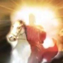 Offenbg 19,16…und er trägt an seinem Gewand und an seiner Hüfte den Namen geschrieben:    KÖNIG der Könige und HERR aller Herren.. ER ist der  CHRISTUS GOTTES